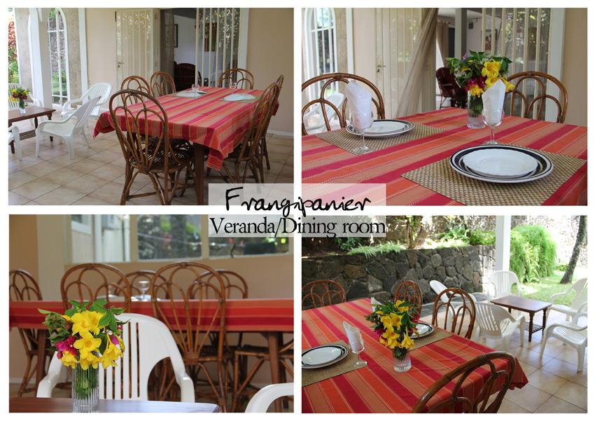 Frangipanier veranda dining - Veranda dining rooms ...